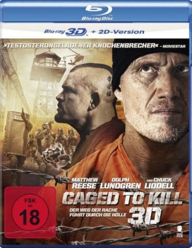 Caged to Kill 3D  (3D blu-ray)