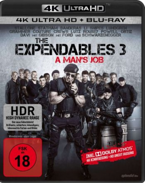 Expendables 3, The - A Man's Job  (4K Ultra HD)