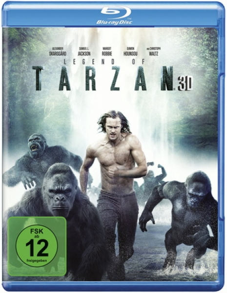 Legend of Tarzan 3D  (3D blu-ray)