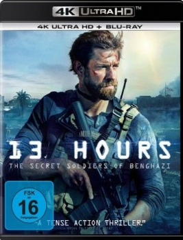 13 Hours: The Secret Soldiers of Benghazi  (4K Ultra HD)