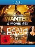 Wanted/Death Race - Extended Version  (blu-ray)