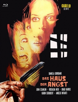 Haus der Angst - Eurocult Mediabook Collection (DVD+blu-ray) (C)