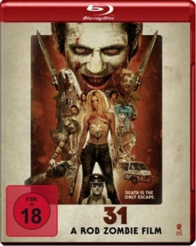 31 - A Rob Zombie Film (blu-ray)