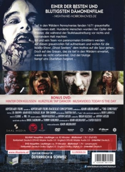 Cemetery, The - Limited Collectors Edition - Uncut  (DVD+blu-ray) (B)
