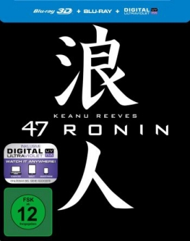 47 Ronin 3D - Steelbook Edition  (3D blu-ray)