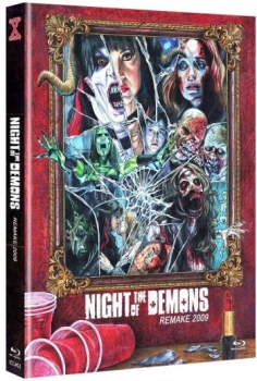 Night of the Demons (2009) - Uncut Mediabook Edition  (blu-ray) (A)