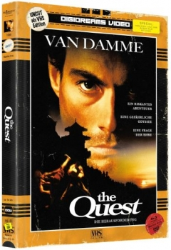 Quest, The - Uncut Mediabook Edition  (DVD+blu-ray)