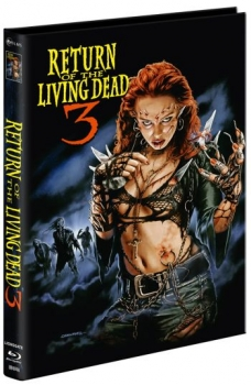 Return of the Living Dead 3 - Unrated Mediabook Edition  (DVD+blu-ray) (A)
