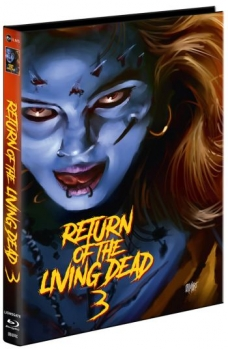 Return of the Living Dead 3 - Unrated Mediabook Edition  (DVD+blu-ray) (C)