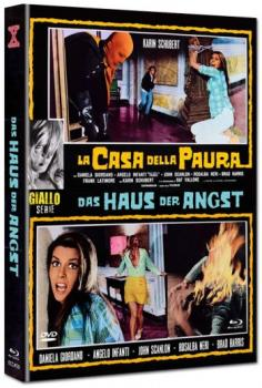Haus der Angst - Eurocult Mediabook Collection (DVD+blu-ray) (E)