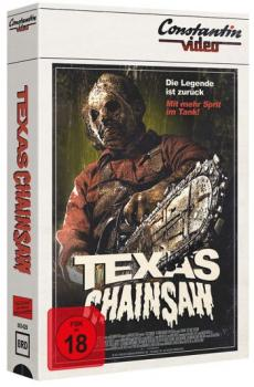 Texas Chainsaw - Unrated Version - Limited VHS Design Edition  (blu-ray)