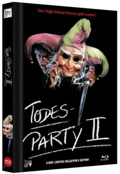 Todesparty 2, Die - Cutting Class - Uncut Mediabook Edition  (DVD+blu-ray) (D)