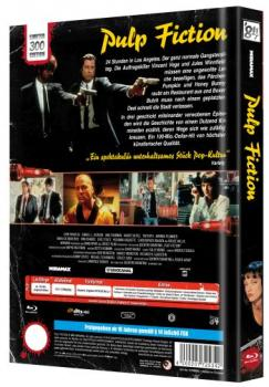Pulp Fiction - Uncut Mediabook Edition  (blu-ray) (C)