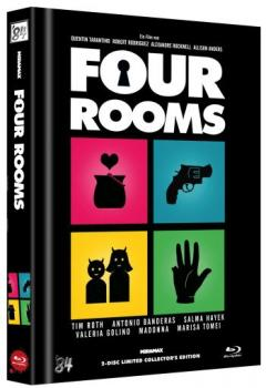 Four Rooms - Uncut Mediabook Edition  (DVD+blu-ray) (C)