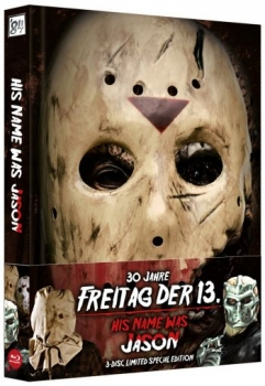 His Name Was Jason - 30 Jahre Freitag der 13. - Uncut Mediabook Edition  (DVD+blu-ray)