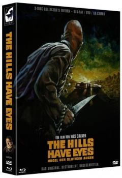 Hills Have Eyes, The - Uncut Digipack Edition  (DVD+blu-ray)