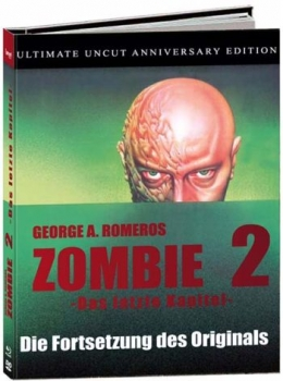 Zombie 2 - Day of the Dead - Uncut Mediabook Edition  (blu-ray) (A)