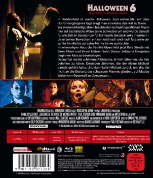 Halloween 6 - Der Fluch des Michael Myers - Uncut Edition  (blu-ray)