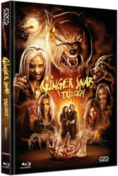 Ginger Snaps Trilogy - Uncut Mediabook Edition  (blu-ray)