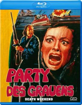 Party des Grauens - Death Weekend - Uncut Edition  (blu-ray)