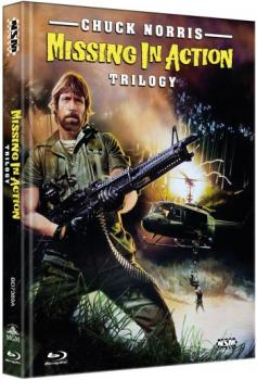 Missing in Action 1-3 - Uncut Mediabook Edition  (blu-ray) (A)