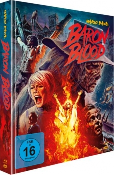 Baron Blood - Mario Bava Mediabook Edition  (DVD+blu-ray)