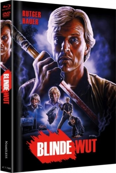 Blinde Wut - Uncut Mediabook Edition  (DVD+blu-ray) (Cover A - Gezeichnet)