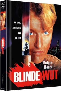 Blinde Wut - Uncut Mediabook Edition  (DVD+blu-ray) (Cover E - Poster)