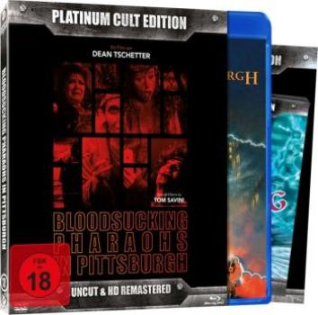 Bloodsucking Pharaos in Pittsburg - Uncut Platinum Cult Edition  (DVD+blu-ray)