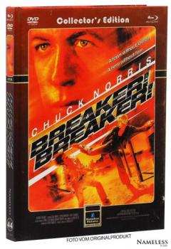 Breaker Breaker - Uncut Mediabook Edition  (DVD+blu-ray) (Cover Retro)