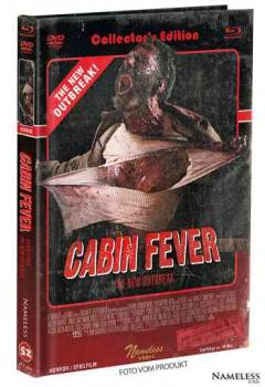 Cabin Fever 4 - The New Outbreak - Uncut Mediabook Edition  (DVD+blu-ray) (C - Retro)