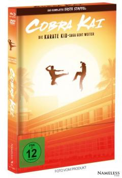 Cobra Kai - Staffel 1 - Limited Mediabook Edition  (DVD+blu-ray) (A - Original)