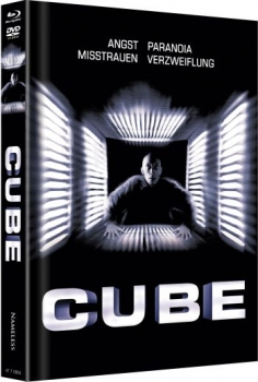 Cube - Uncut Mediabook Edition  (DVD+blu-ray) (Cover A - SW)