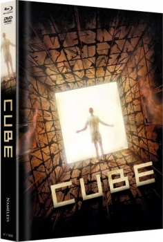 Cube - Uncut Mediabook Edition  (DVD+blu-ray) (Cover C - Orange)