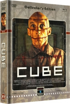 Cube - Uncut Mediabook Edition  (DVD+blu-ray) (Cover D - Retro)