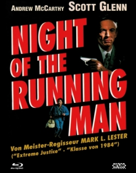 Night of the Running Man - Uncut Mediabook Edition  (DVD+blu-ray) (A)