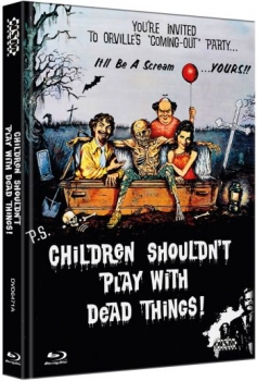 Children Shouldn't Play With Dead Things - Uncut Mediabook Edition  (DVD+blu-ray) (A)