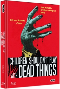 Children Shouldn't Play With Dead Things - Uncut Mediabook Edition  (DVD+blu-ray) (B)