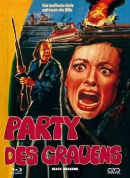 Party des Grauens - Death Weekend - Uncut Mediabook Edition  (DVD+blu-ray) (A)