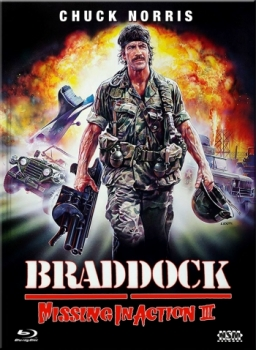 Missing in Action 3 - Braddock - Uncut Mediabook Edition  (DVD+blu-ray) (A)