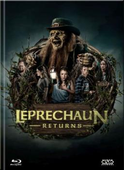 Leprechaun Returns - Uncut Mediabook Edition  (DVD+blu-ray) (D)