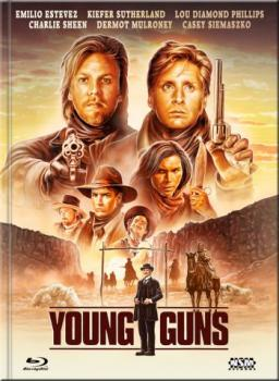 Young Guns - Uncut Mediabook Edition  (DVD+blu-ray) (F)