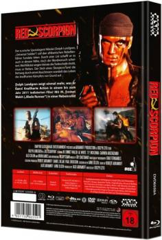 Red Scorpion - Uncut Mediabook Edition  (DVD+blu-ray) (A)