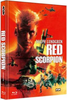 Red Scorpion - Uncut Mediabook Edition  (DVD+blu-ray) (B)