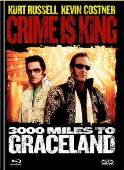 Crime is King - 3000 Miles to Graceland - Uncut Mediabook Edition  (DVD+blu-ray) (A)