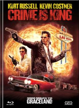 Crime is King - 3000 Miles to Graceland - Uncut Mediabook Edition  (DVD+blu-ray) (C)