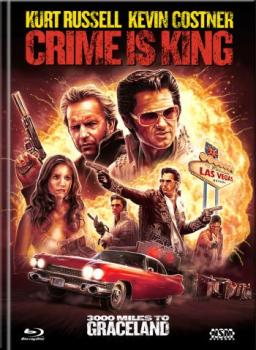 Crime is King - 3000 Miles to Graceland - Uncut Mediabook Edition  (DVD+blu-ray) (D)