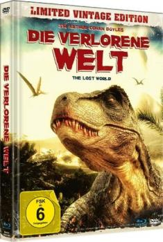Verlorene Welt, Die - The Lost World - Limited Mediabook Edition (DVD+blu-ray)