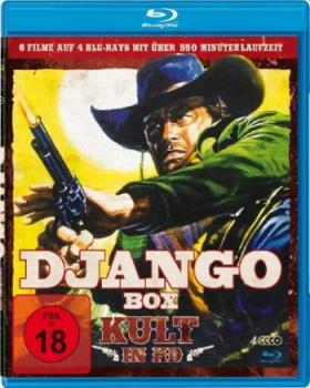 Django Box - Kult in HD (blu-ray)