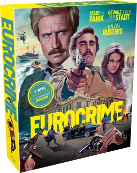 Eurocrime Collection  (blu-ray)